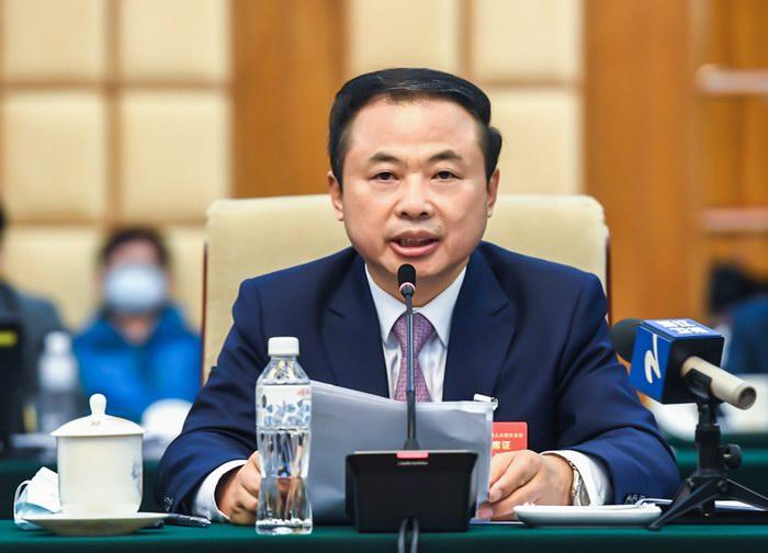张天任代表在浙江省代表团审议政府工作报告上发言