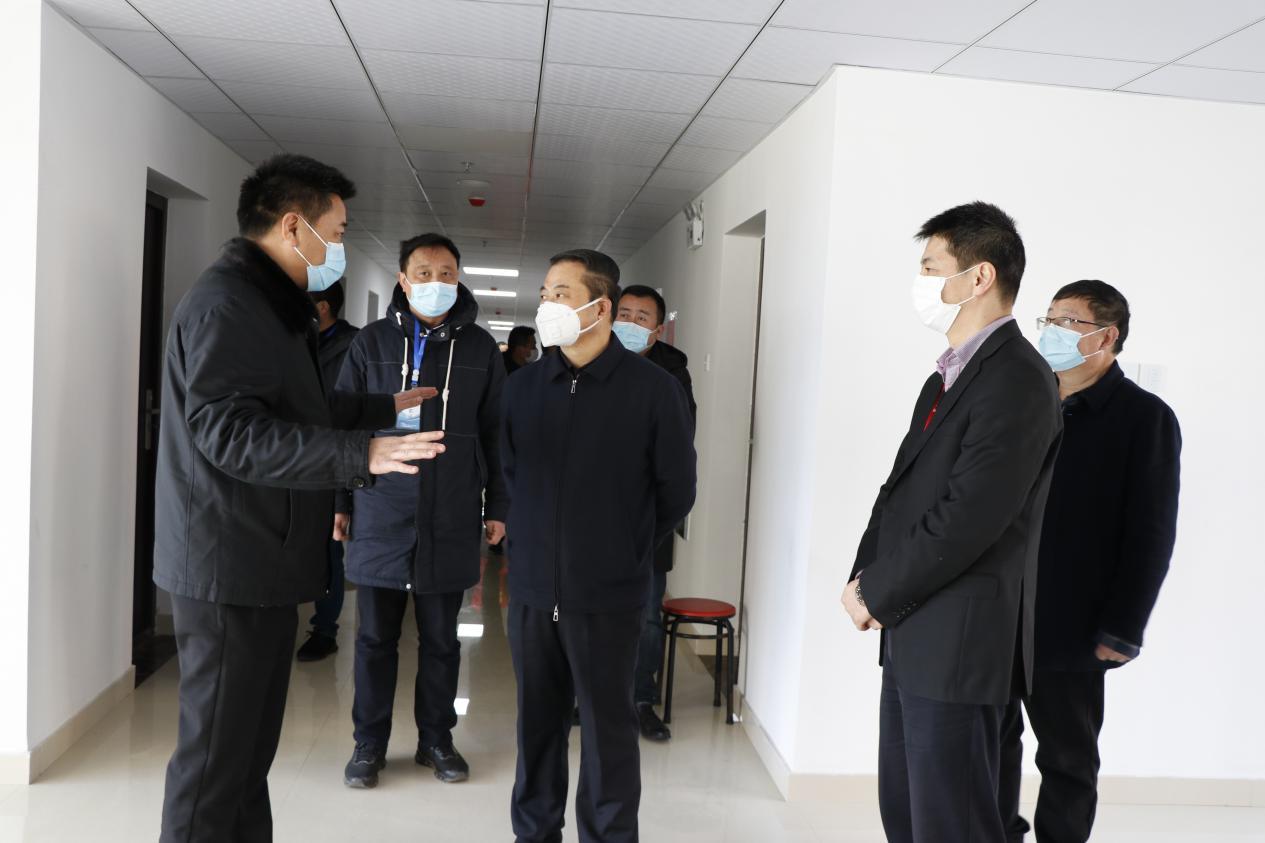 张天任代表组织疫情防控,筹备复工复产