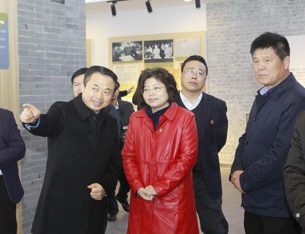 80多位省人大机关党务干部专程到新川村考察